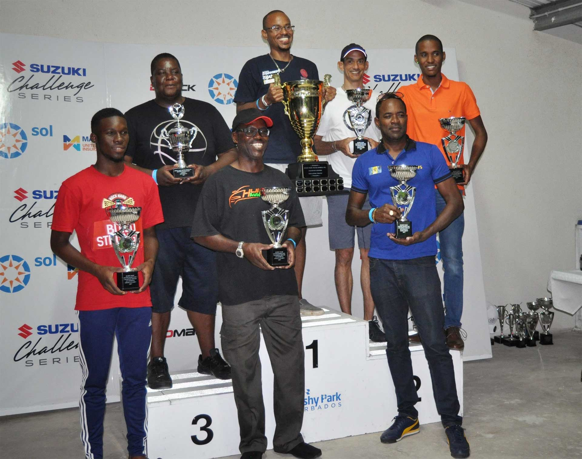 Bushy Park Motor Sports Inc celebrates its 2017 Champions ...