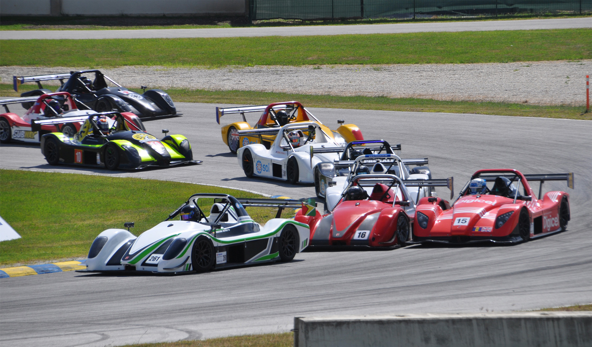 Radical Caribbean SR3 Cup steps up to regional status   Circuit