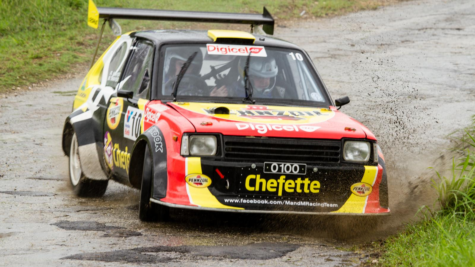 barbados rally car