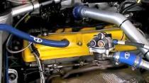 Suzuki SX4 WRC engine view