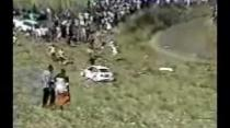 Roger Mayers Ford Escort WRC - Orange Hill Accident