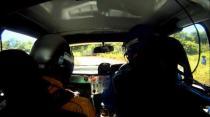 Paul Rees - Rally Barbados 2011 SS1 incar crash
