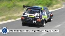 Roger Mayers - Toyota Starlet (BRC Winter Sprint 2017)