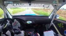 Rally Barbados 2018 - Rob Swann incar - SS4 - Subaru WRC S12B