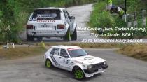 Neil Corbin - Toyota Starlet (2015 Barbados Rally Season)
