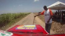 Automotive Art Warmup Rally - Orange Hill Neil Corbin