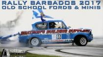 Rally Barbados 2017 - The Old School Fords and Minis