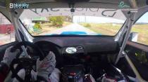 Rally Barbados 2018 - Rob Swann incar - SS17 - Subaru WRC S12B