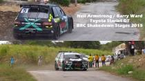Neil Armstrong - Toyota Starlet - BRC Shakedown Stages 2015