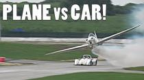JENSON BUTTON RACE CAR vs PLANE!!