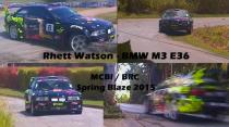 Rhett Watson - BMW M3 E36 - MCBI / BRC Spring Blaze 2015
