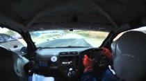 Rally Barbados 2014 Padmore Village to Bushy Park - Jamal Brathwaite/ Dario Hoyte Honda Civic Type R