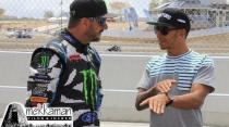 Ken Block vs Lewis Hamilton. Fun on the track!