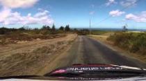 Neil Armstrong SX4 WRC Four Hills Valvoline Rally 2014