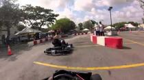 Gokart ep4---race 3.......big crash then bigger crash