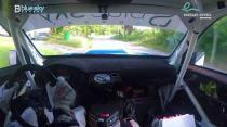 Rally Barbados 2018 - Rob Swann incar - SS8 - Subaru WRC S12B