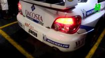 Roger Skeete's Subaru Impreza WRC S12: Start up, idle and leaving