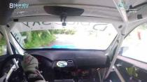 Rally Barbados 2018 - Rob Swann incar - SS5 - Subaru WRC S12B