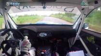 Rally Barbados 2018 - Rob Swann incar - SS10 - Subaru WRC S12B
