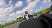 Race win at Bushy Park Karting race meeting (29th Nov 2017)
