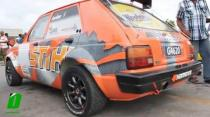 Josh Read's Toyota Starlet idling and revving