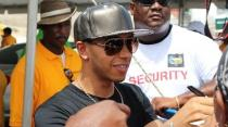 2014 Top Gear Festival LIVE in Barbados Lewis Hamilton, Clarkson F1 Part 1