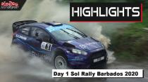 Sol Rally Barbados 2020 Day 1 | Ken Block