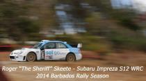 Roger Skeete - Subaru Impreza S12 WRC - 2014 Barabdos Rally Season
