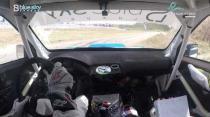 Rally Barbados 2018 - Rob Swann incar - SS3 - Subaru WRC S12B