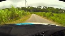Martin Atwell - BMW M3 - Tappy Pond - Rally Barbados 2013