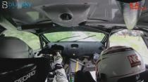 Sol Rally Barbados 2020 - Rob Swann & Darren Garrod - SS2 - in car WRC
