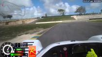 Radical Racing Car at Bushy Park Track Barbados