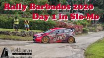 Rally Barbados 2020 with Ken Block - Day 1 in Slo-Mo