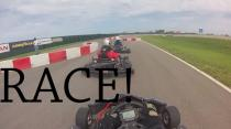 Go-karting: Round 7 Race 4 - second place!