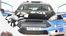 Elfyn Evans Testing for SOL Rally Barbados 2016 plus Interview