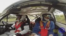 SOL Rally Barbados 2015 - Raymond Clough - passenger cam (Highland to Hangmans Hill) Run 3