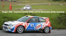 Roger Hill - Toyota Corolla WRC (2015 Barbados Rally Season)
