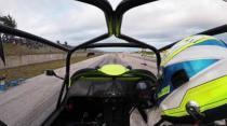 Westfield Hayabusa Turbo drag racing