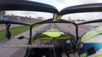 Drag racing a turbo Hayabusa Westfield in Barbados