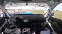 Rally Barbados 2018 - Rob Swann incar - SS6 - Subaru WRC S12B