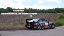 Rhett Watson - 2014 Barbados Rally Club Driver's Champion