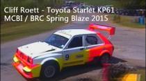 Cliff Roett - Toyota Starlet - MCBI / BRC Spring Blaze 2015