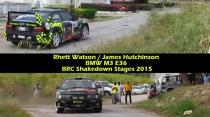 Rhett Watson - BMW M3 E36 - BRC Shakedown Stages 2015