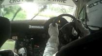 incar with Roger Skeete, Subaru Impreza WRC - Springvale Sun & Stars 2011