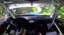 Rally Barbados 2018 - Rob Swann incar - SS7 - Subaru WRC S12B