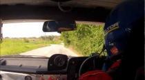 Paul Rees and Paul Briggs Rally Barbados 2013 Incar - SS19 Padmore