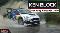 Ken Block at Sol Rally Barbados 2020: Ford Fiesta R5 Jumps, lauch, drift