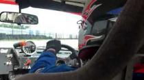 Paul St. Hill onboard  b12 nissan sunny race car
