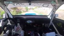 Rally Barbados 2018 - Rob Swann incar - SS15 - Subaru WRC S12B