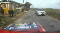 Neil Corbin Racing - Rally B'dos 2014 Emergency Stop (Malvern)
